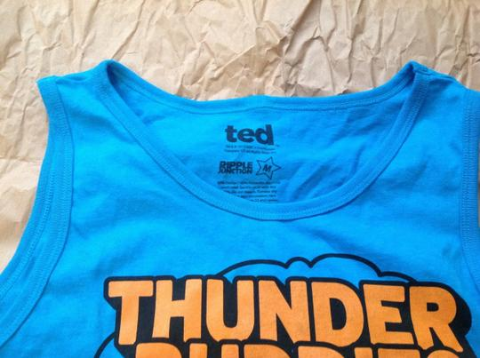 Ted Ted bear blue tank top men's size medium new without tag Image 2