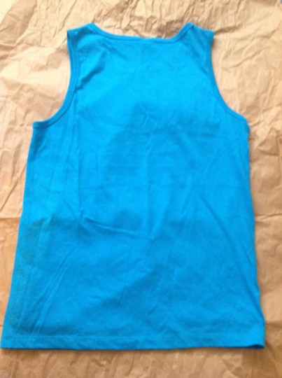 Ted Ted bear blue tank top men's size medium new without tag Image 4
