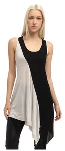 Yohji Yamamoto Y's By U-yoke Tank White/black Top black/white