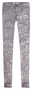 Abercrombie & Fitch Floral Jeggings Floral Print Skinny Jeans