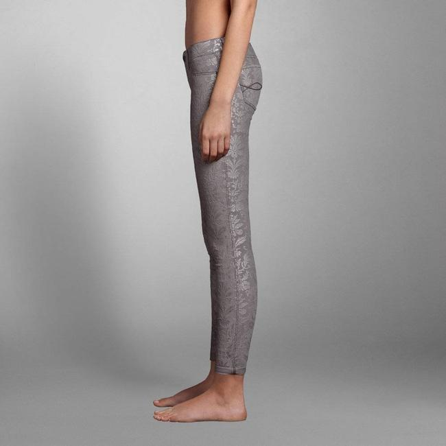 Abercrombie & Fitch Floral Jeggings Floral Print Skinny Jeans Image 1