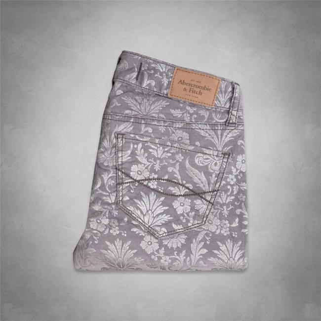 Abercrombie & Fitch Floral Jeggings Floral Print Skinny Jeans Image 2