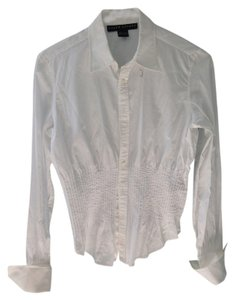 Ralph Lauren Black Label Button Down Shirt White