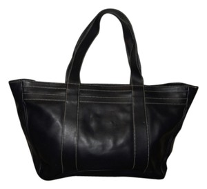 Les Copains Leather Tote in Black
