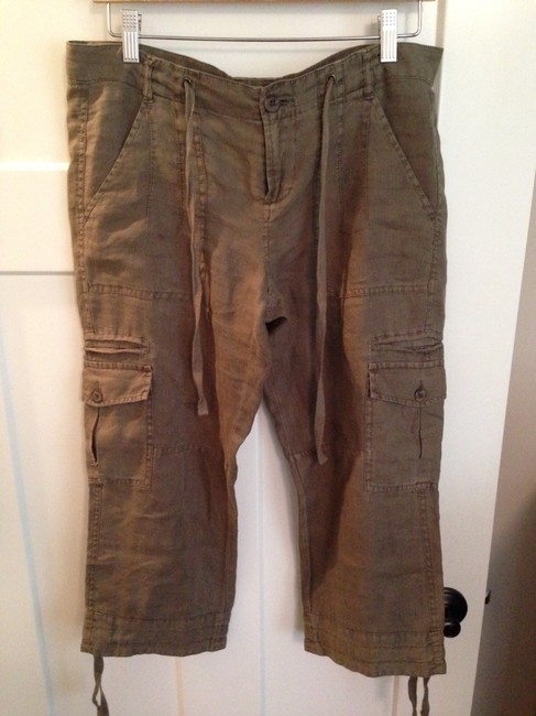 Joie Capris Olive Green