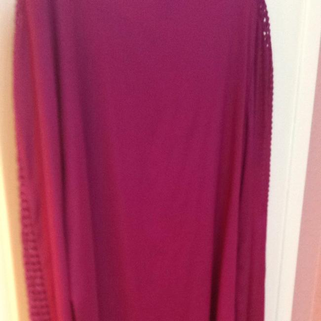 Tory Burch Top Washed Red Wine
