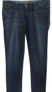 Paige Premium Denim Straight Leg Jeans-Medium Wash