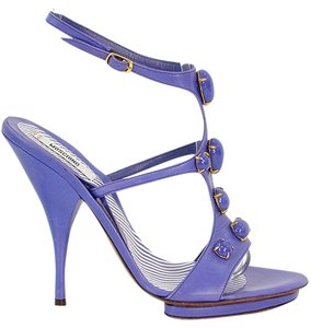 Moschino Jeweled Sandal T-strap Purple, Lavendar Sandals