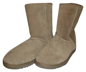 Xhilaration Calf Ankle Tan Boots