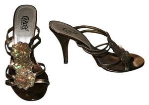 Carlos by Carlos Santana Pewter Sandals