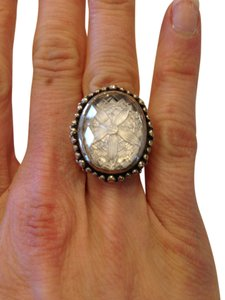 Stephen Yearick Stephen Dweck sterling silver and quartz ring