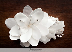 Ivory Comb Hair Accessories