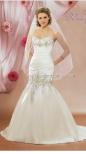 Symphony Bridal Mermaid Wedding Gown Wedding Dress