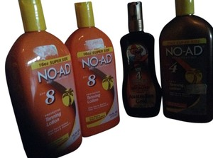 No-Ad Tanning Lotion
