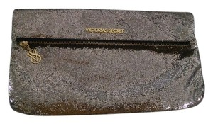 Victoria's Secret Glitter Holiday Formal Gold Clutch