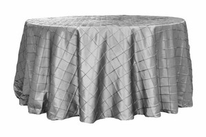 Silver Table Cloths-three Sizes