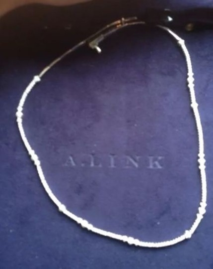 a. link A Link 18 K White Gold 2.45 Tcw Diamond Necklace Image 2