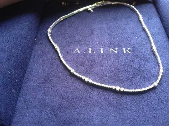 a. link A Link 18 K White Gold 2.45 Tcw Diamond Necklace Image 5
