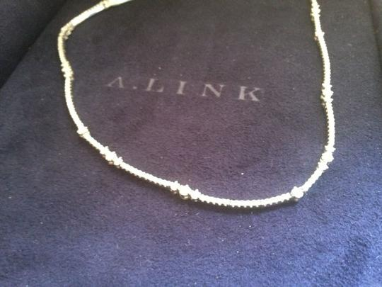 a. link A Link 18 K White Gold 2.45 Tcw Diamond Necklace Image 7