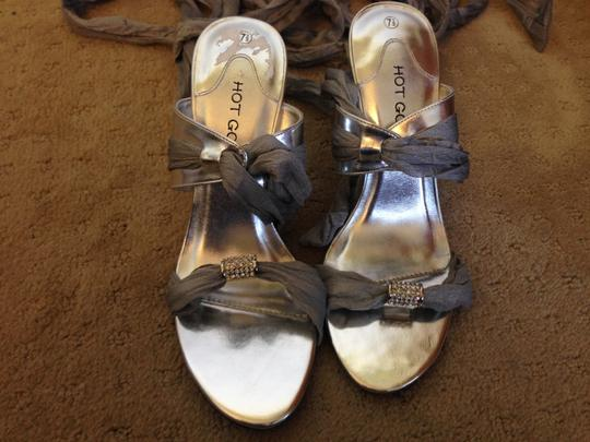 Other Formal Pumps Wraps Silver Sandals