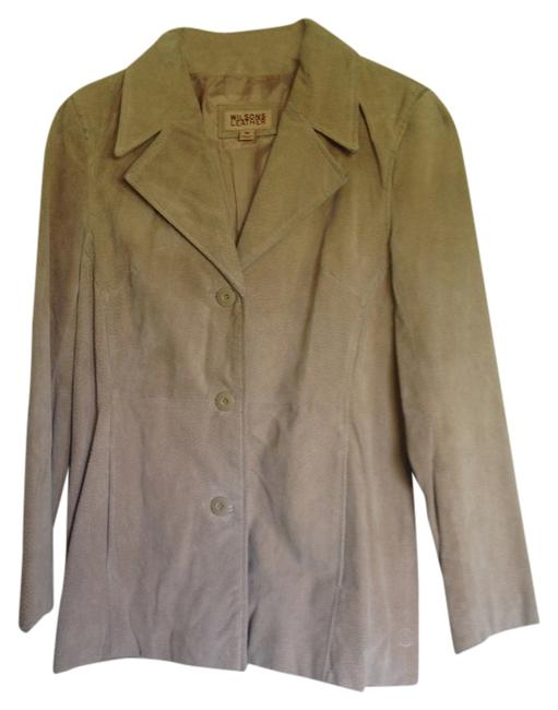 Wilsons Leather Light Brown Leather Jacket