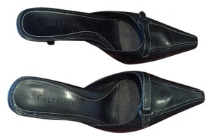 Cole Haan Mule Black Leather Mules