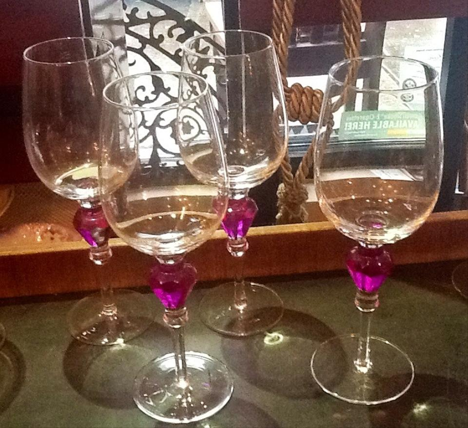 Wine glasses tall tradesy weddings for Wine glass decorations for weddings