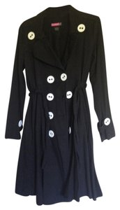 Say What? Circle Skirt Trench Coat