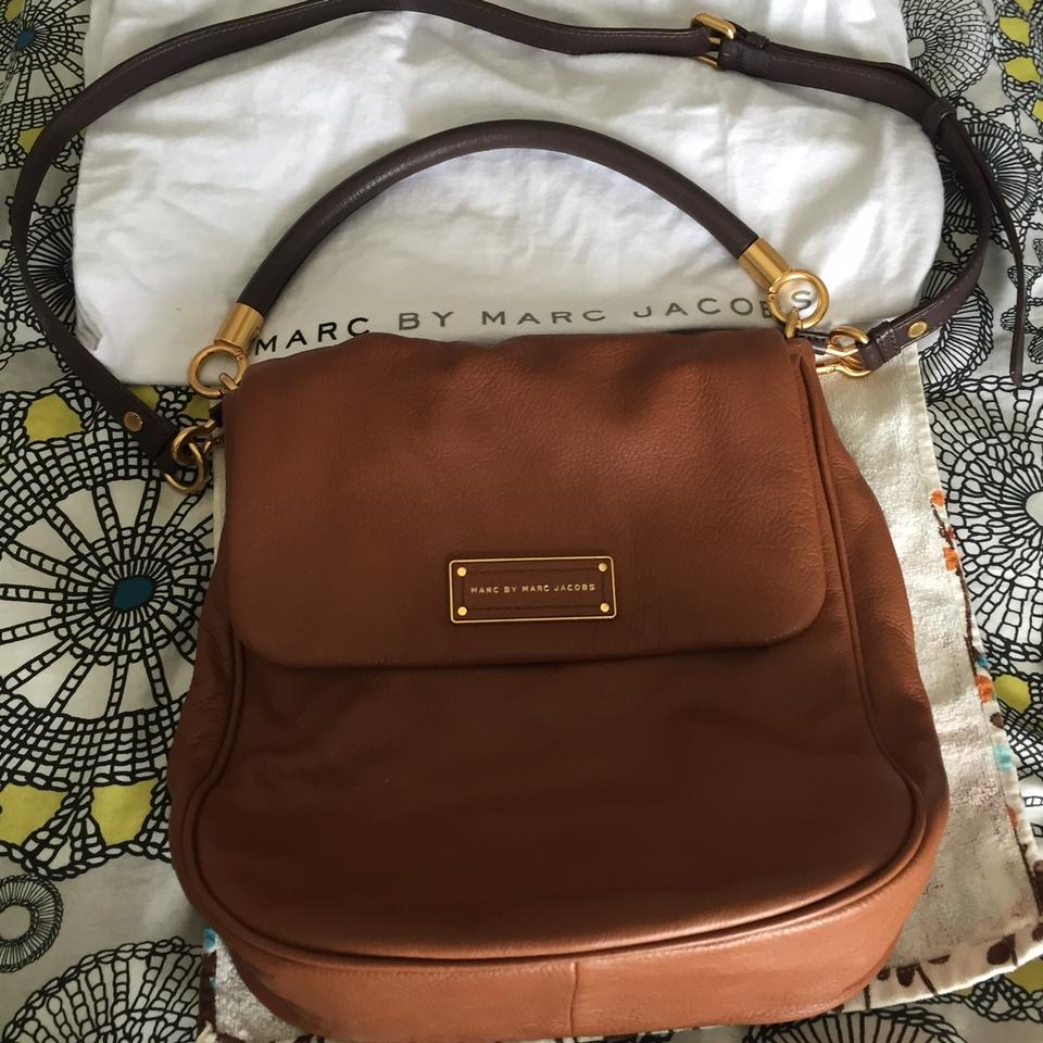 58419a7b5973 Marc by Marc Jacobs Too Hot To Handle Laetitia Cinnamon Stick (Brown) Leather  Hobo Bag - Tradesy