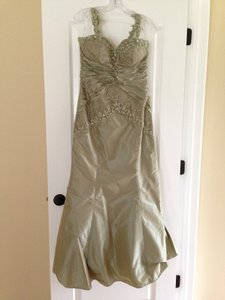 Rina DiMontella Sage Green Dress