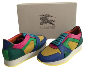 Burberry Sneakers Color-blocking The Field Bold Trainers Multi Athletic