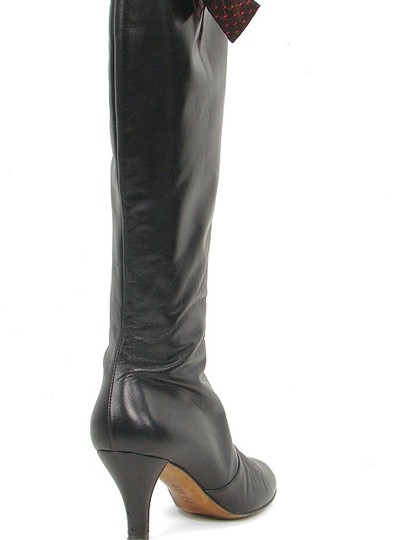 Moschino Bow Black Boots Image 2