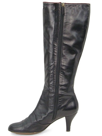 Moschino Bow Black Boots Image 3