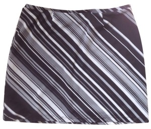 Express Mini Skirt Black gray