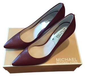 Michael Kors Heels Heels Burgundy Red Pumps