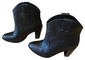 Joie Black leather Boots