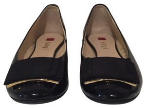 Hogl Black with gold hardware Flats