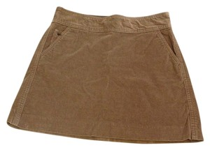 Banana Republic Corduroy Skirt Tan Khaki
