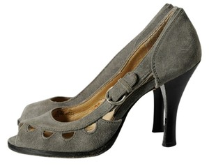 Michael Kors Gray Pumps