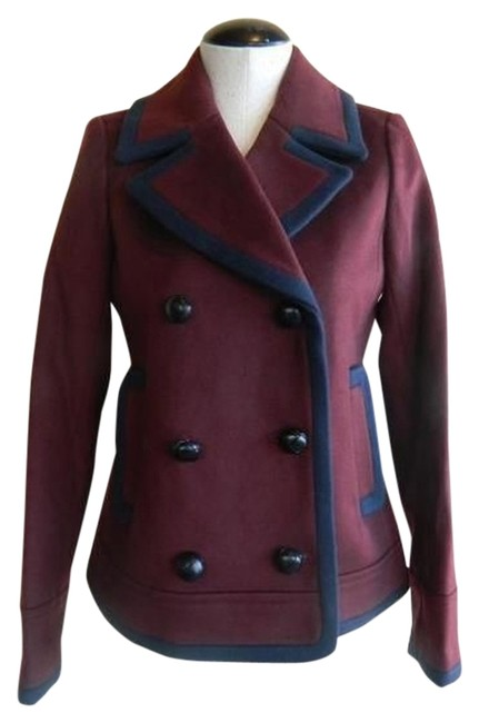 J.Crew Dark red (cabarnet) Jacket