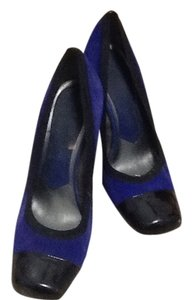 Nine West Purple and black Pumps