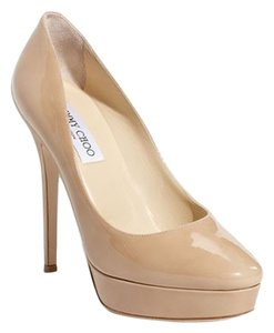 Jimmy Choo Cosmic Nude Pumps