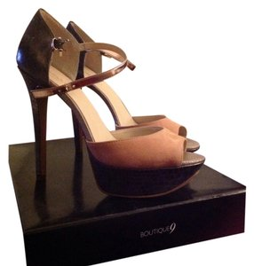 Boutique 9 Comfy High Dressy Sandals Try/blush Platforms