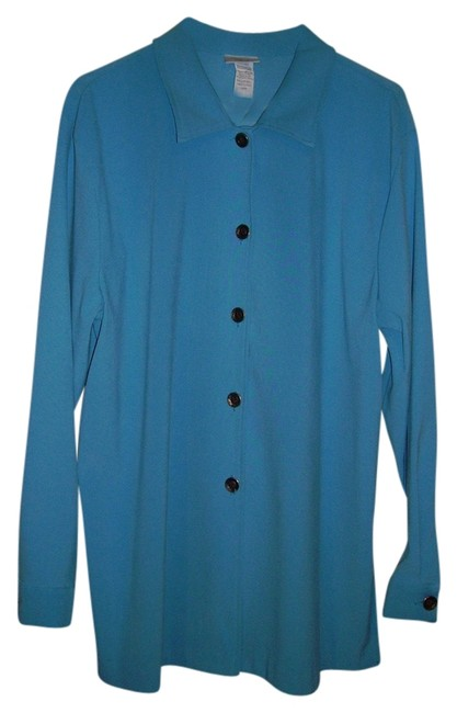 Toby Button Down Shirt turquoise