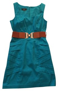 BCX short dress Teal on Tradesy