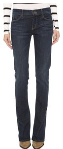 Mother Denim Soft Dark Rinse Straight Leg Jeans-Dark Rinse
