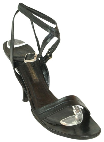 Preload https://img-static.tradesy.com/item/881936/narciso-rodriguez-black-leather-strappy-sandals-size-us-75-0-0-540-540.jpg