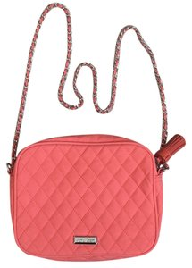 Mango Faux Leather Chain Strap Cross Body Bag