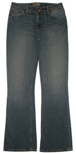 BKE New Without Tags 5 Pocket Style Zip Fly Whiskering & Distressing Detail Cotton Leg Opening Style: Bkl1004r Boot Cut Jeans-Medium Wash