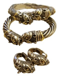 Nordic Snake bangles One of a kind Nordic collection 18k .925 ss